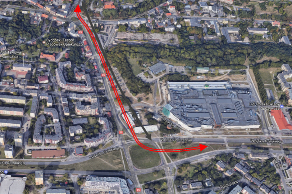 W Bydgoszczy powstaje nowa linia tramwajowa