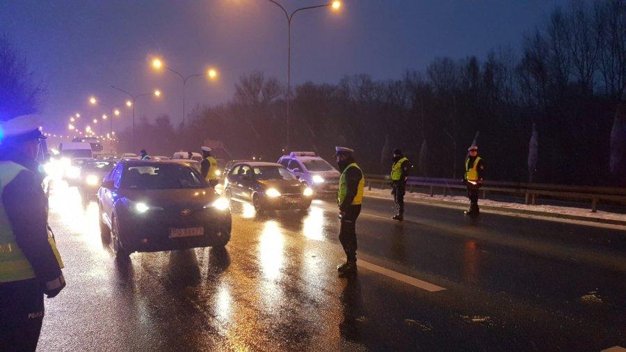 Działania policji wymierzone w nietrzeźwych kierowców prowadzone były w poniedziałek (4 lutego) i wtorek (5 lutego) na terenie Poznania i powiatu poznańskiego (fot. poznan.policja.gov.pl)