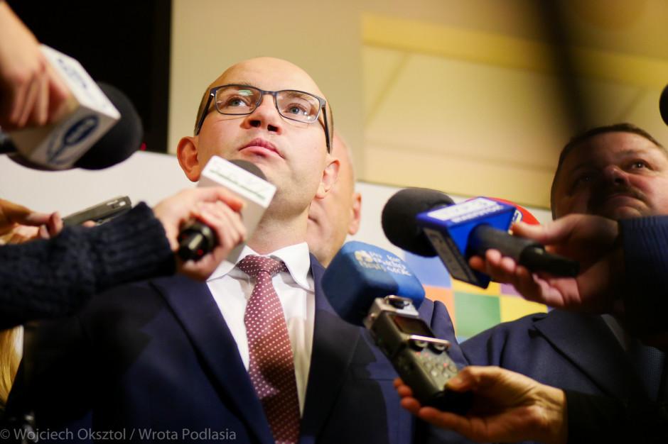 Artur Kosicki, marszałek podlaski: Musimy popracować nad inwestycjami i promocją