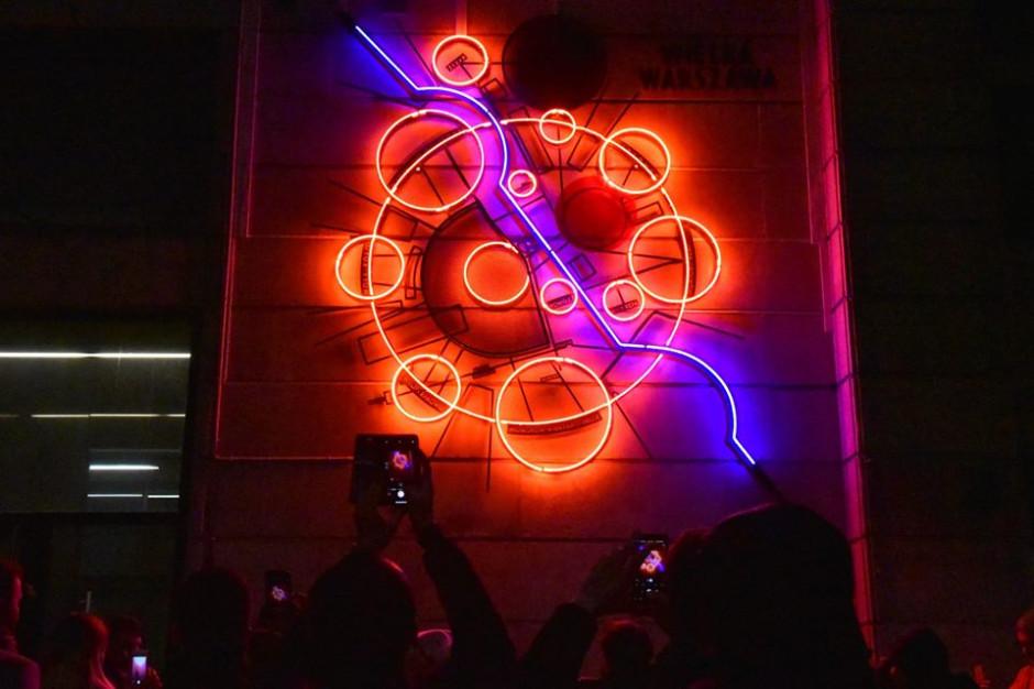 Warszawa: Neon #WielkaWarszawa znów świeci