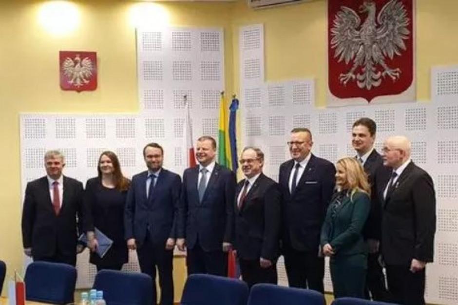 Premier Litwy z wizytą w Suwałkach