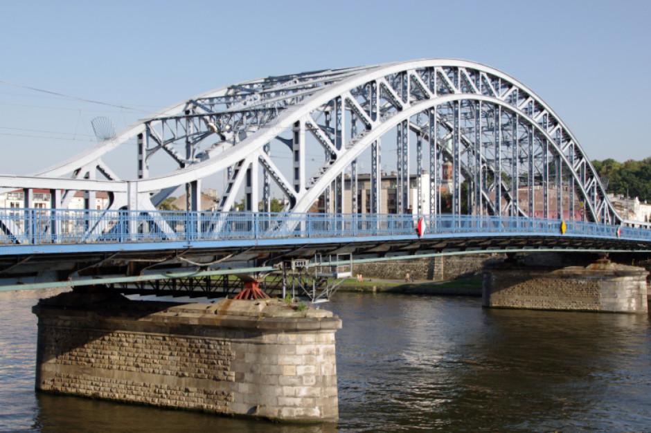 Remont najstarszego, krakowskiego mostu