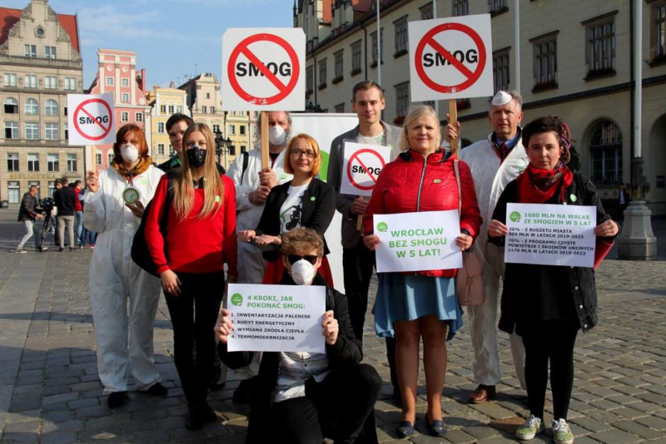 Miasto za mało wydaje na walkę ze smogiem? Mocne słowa Partii Zieloni wymierzone we władze Wrocławia