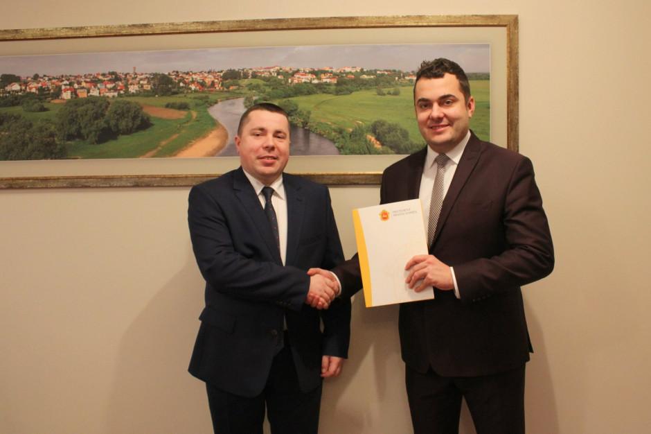 Andrzej Stypułkowski został zastępcą prezydenta Łomży Mariusza Chrzanowskiego