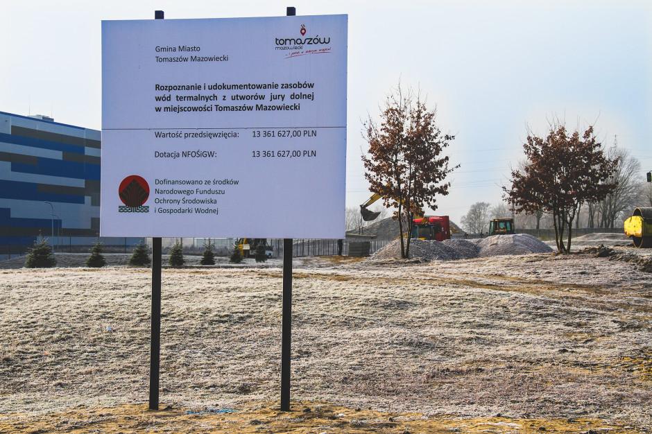 Geotermia w Tomaszowie Mazowieckim. Ruszyły prace przygotowawcze