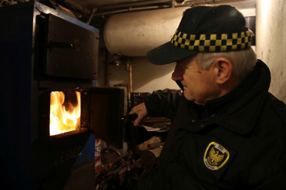 Straże miejskie robią za mało, aby zapobiegać spalaniu zakazanych substancji