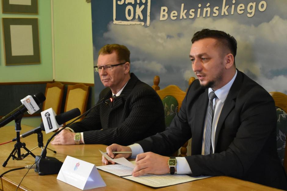 Grzegorz Kornecki zastępcą burmistrza Sanoka