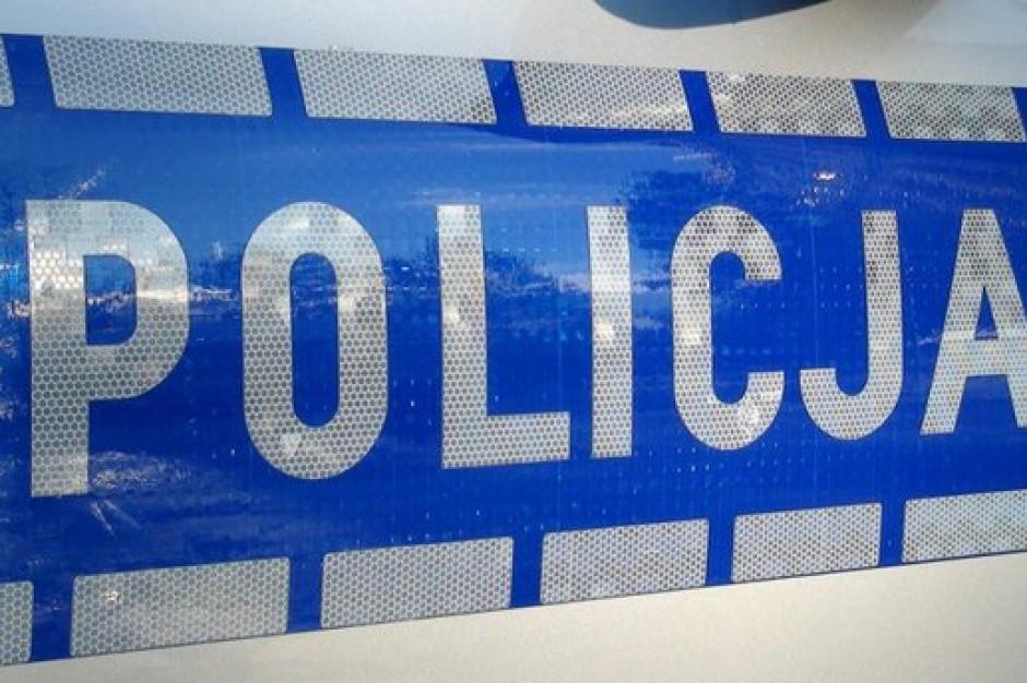 Szubin: Mężczyzna obrzucił komisariat policji koktajlem