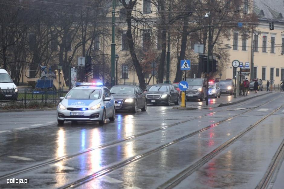 Warszawa: Utrudnienia na drogach w związku z konferencją bliskowschodnią