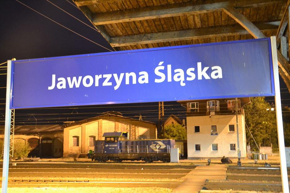 Bomba na dworcu kolejowym w Jaworzynie Śląskiej