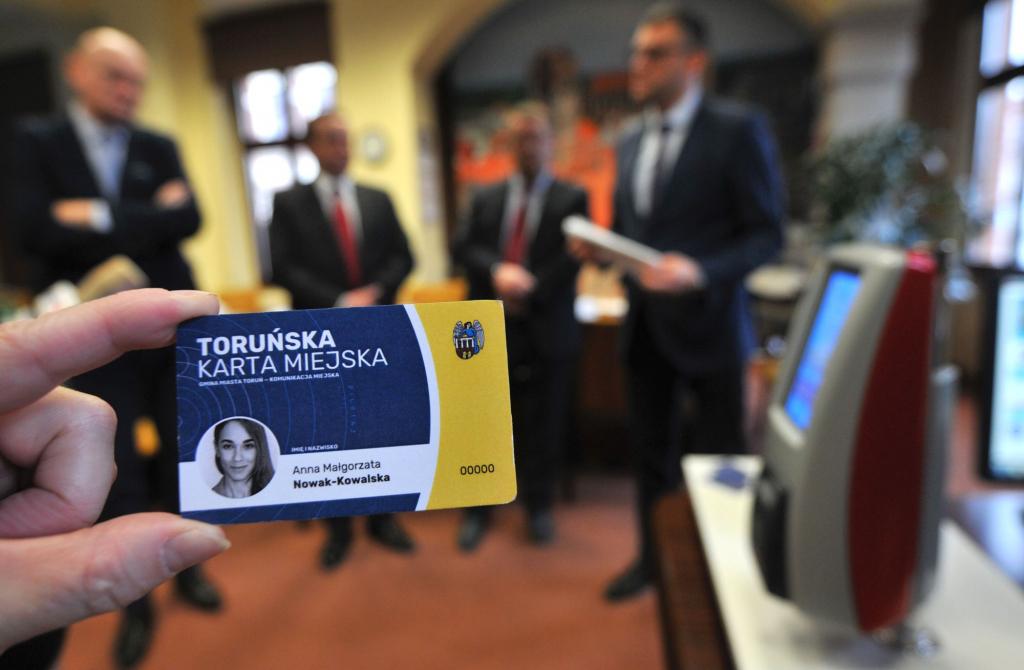 Toruński bilet elektroniczny przetestuje 700 mieszkańców (fot. Małgorzata Litwin/UMT)