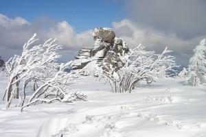 Tej zimy w Karkonoszach najwięcej śniegu od 10 lat