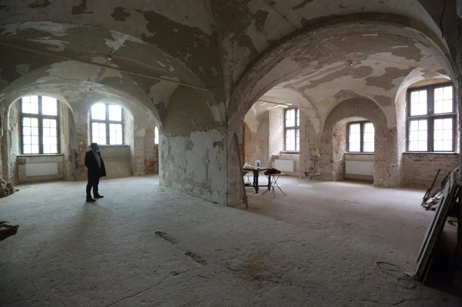 Gdańsk. Sala dawnego archiwum miejskiego w ratuszu przejdzie konserwację