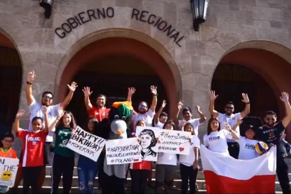 Chilijczycy z Coquimbo przesłali życzenia dla mieszkańców województwa kujawsko-pomorskiego