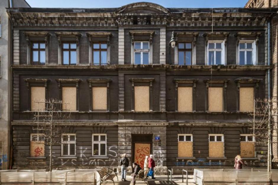 Konserwatorski remont kamienicy w Łodzi