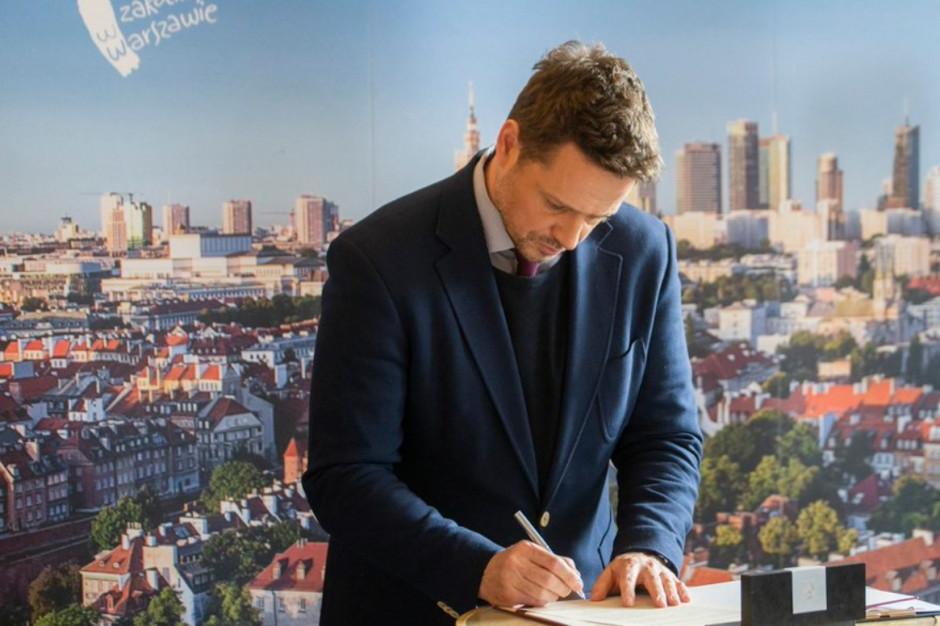 Rafał Trzaskowski: Nazwy ulic w Warszawie zostały zmienione z pogwałceniem prawa