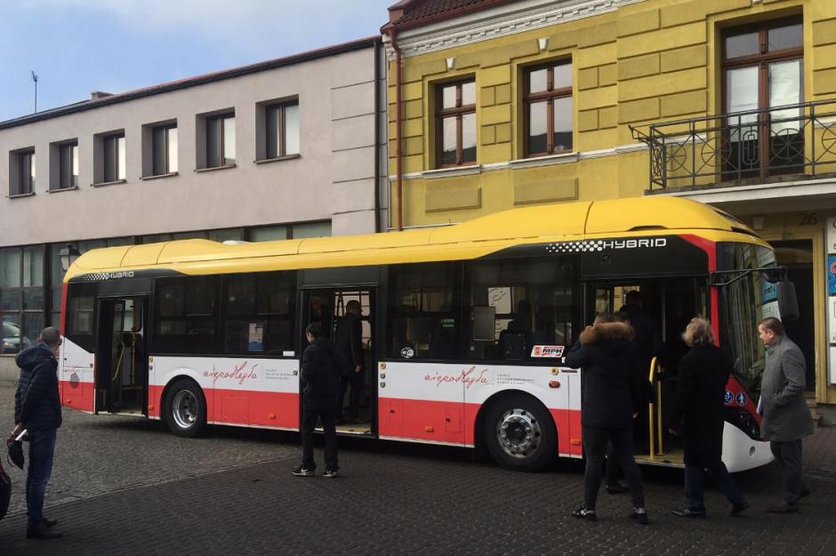 Konin chce kupić autobusy elektryczne. Na razie testuje hybrydę