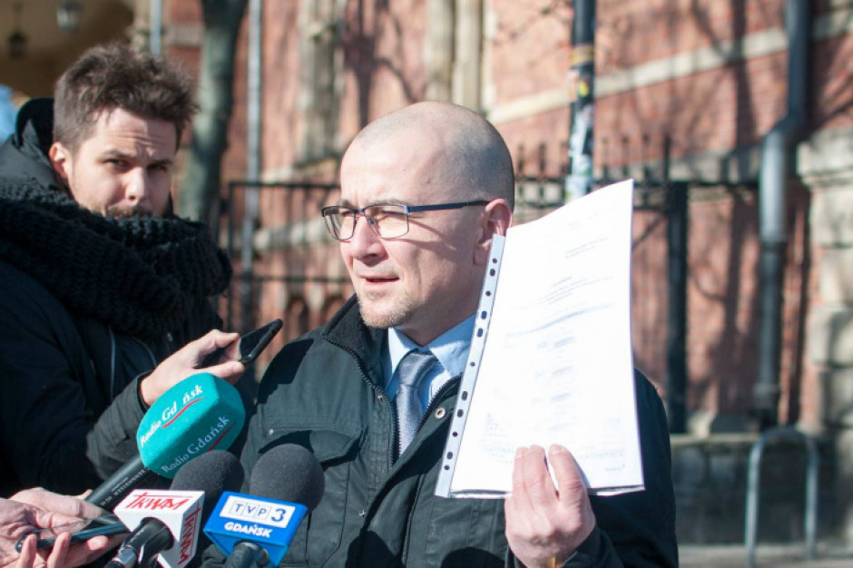 Gdańsk: Marek Skiba z obywatelską inicjatywą uchwałodawczą