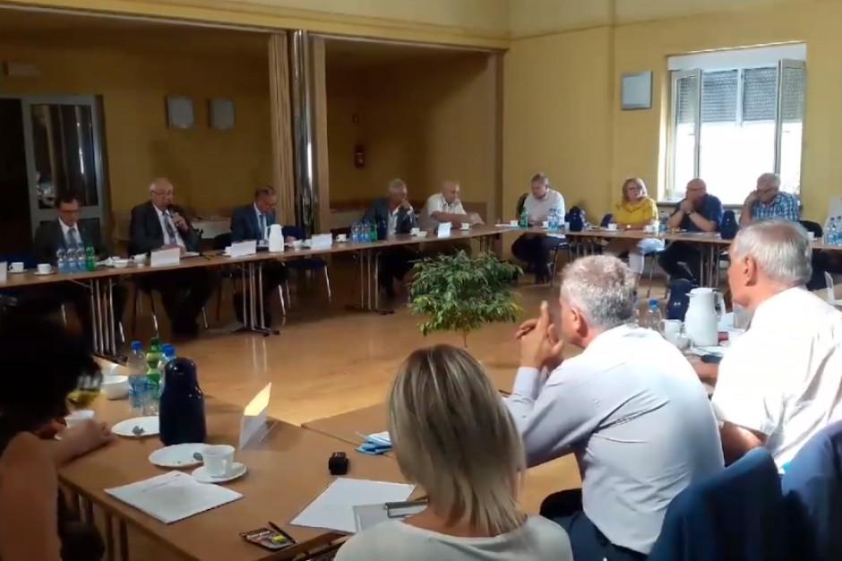 Spotkanie Konwentu Starostów Powiatowych Opolskich zdominował temat finansowania szpitali powiatowych
