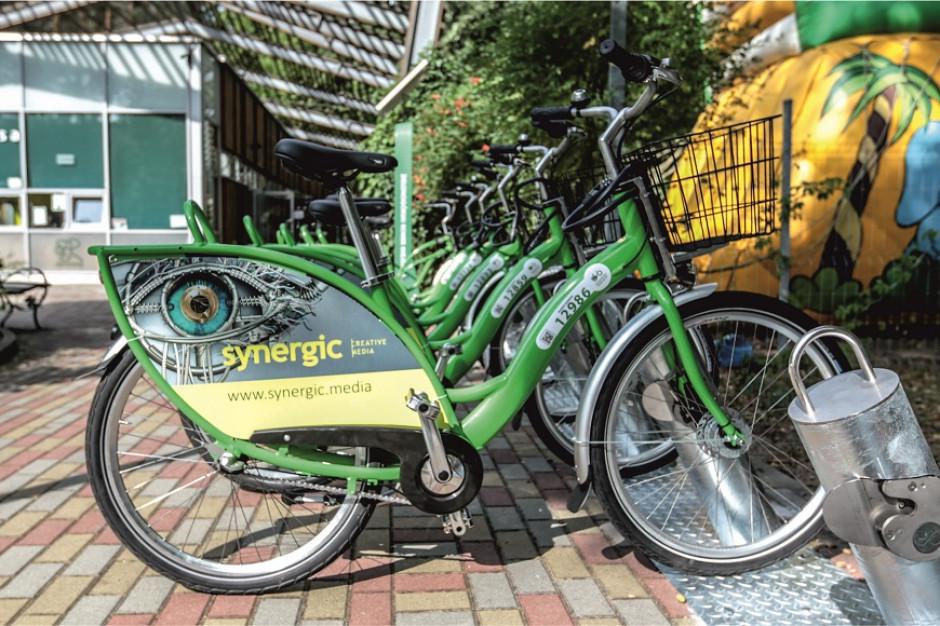 Zielona Góra: Rowery miejskie wyjechały na ulice