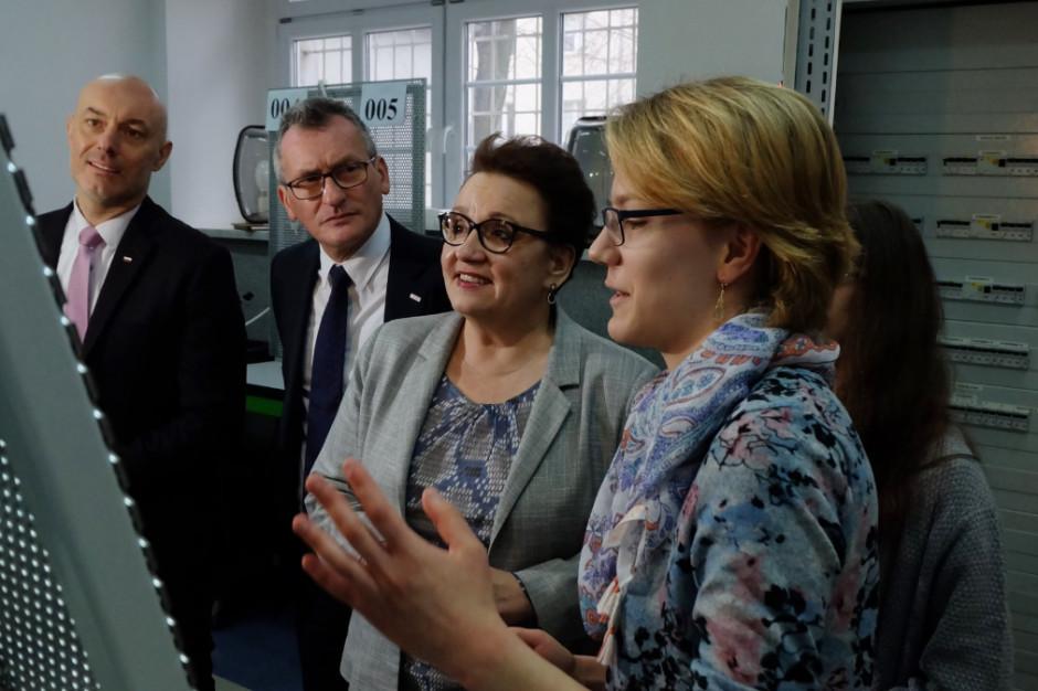 Anna Zalewska w Opolu na pierwszym Regionalnym Kongresie Zawodowym