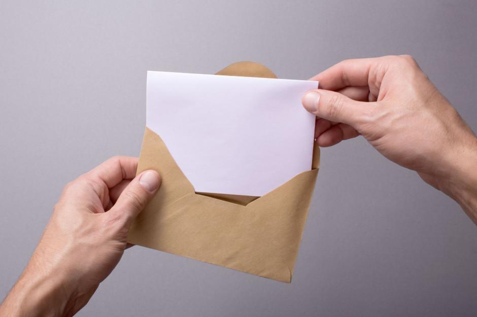 Kielce: Prezydent Bogdan Wenta dostał list z pogróżkami