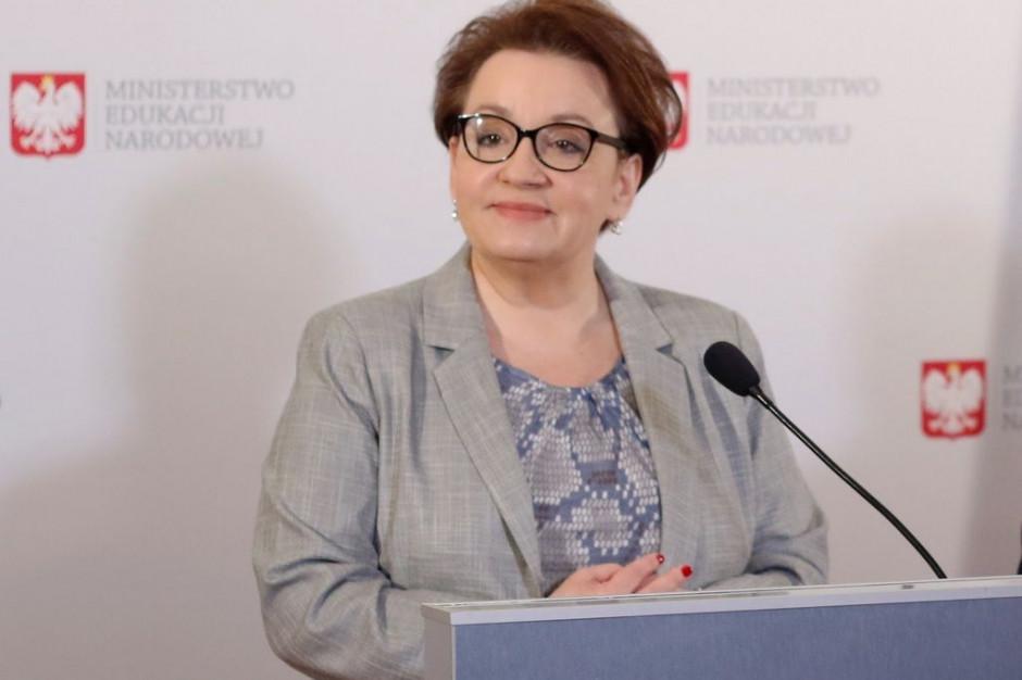 Zalewska: Dziękuję ministrowi Szczerskiemu za przeprosiny