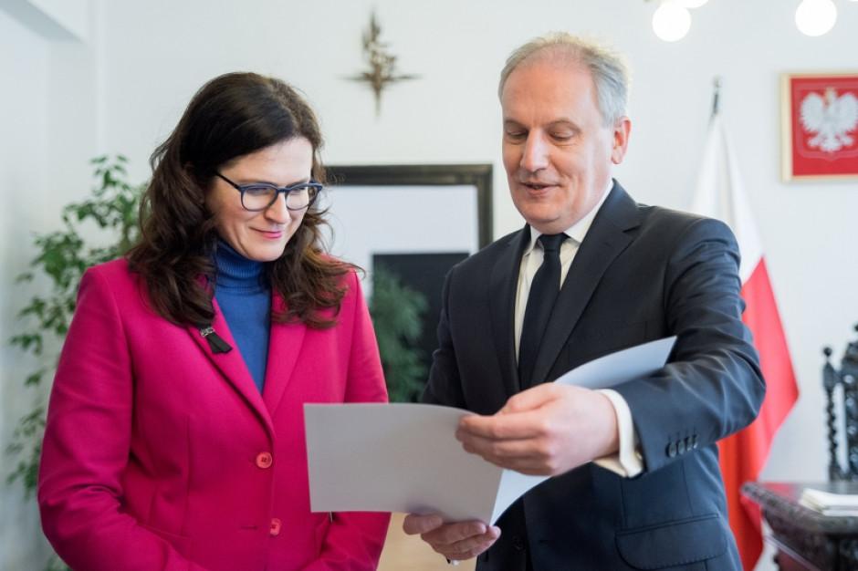 Wojewoda przekazał ponad 3 mln złotych na stabilizację i zabezpieczenie osuwisk w Gdańsku