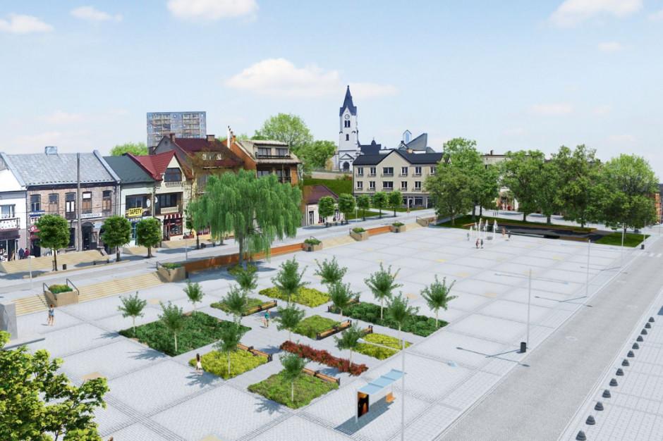 W Starachowicach odnawiają zieleń miejską