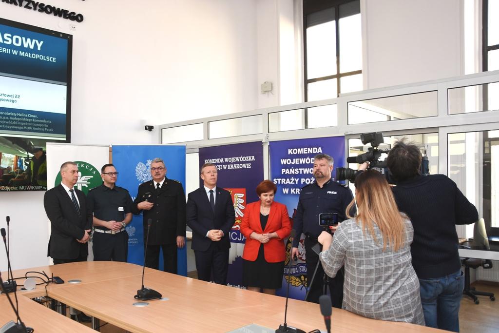 Podczas ferii na małopolskie stoki skierowano 56 policjantów (fot. malopolska.uw.gov.pl)