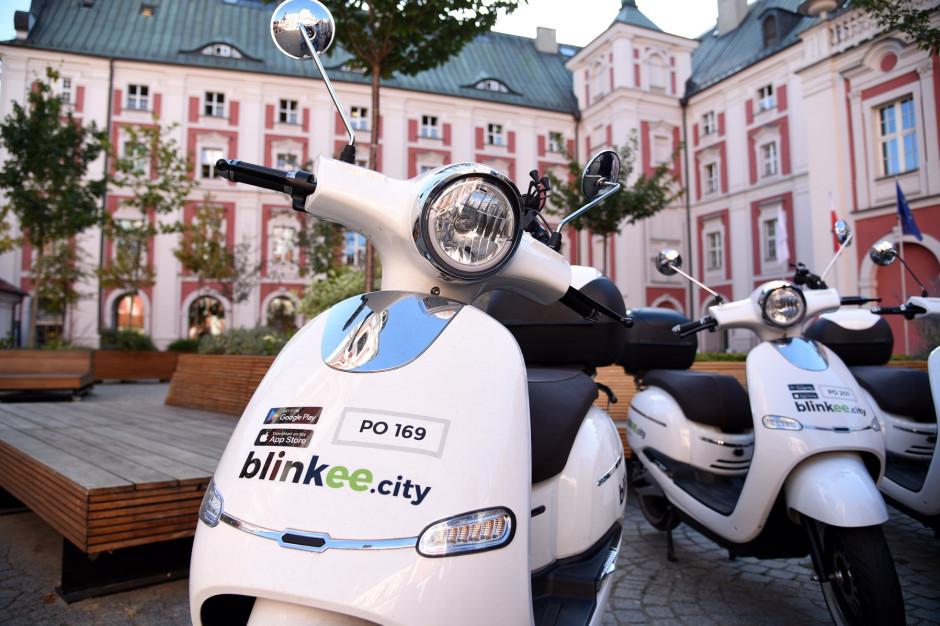 Poznań: Znów można wypożyczać skutery na minuty