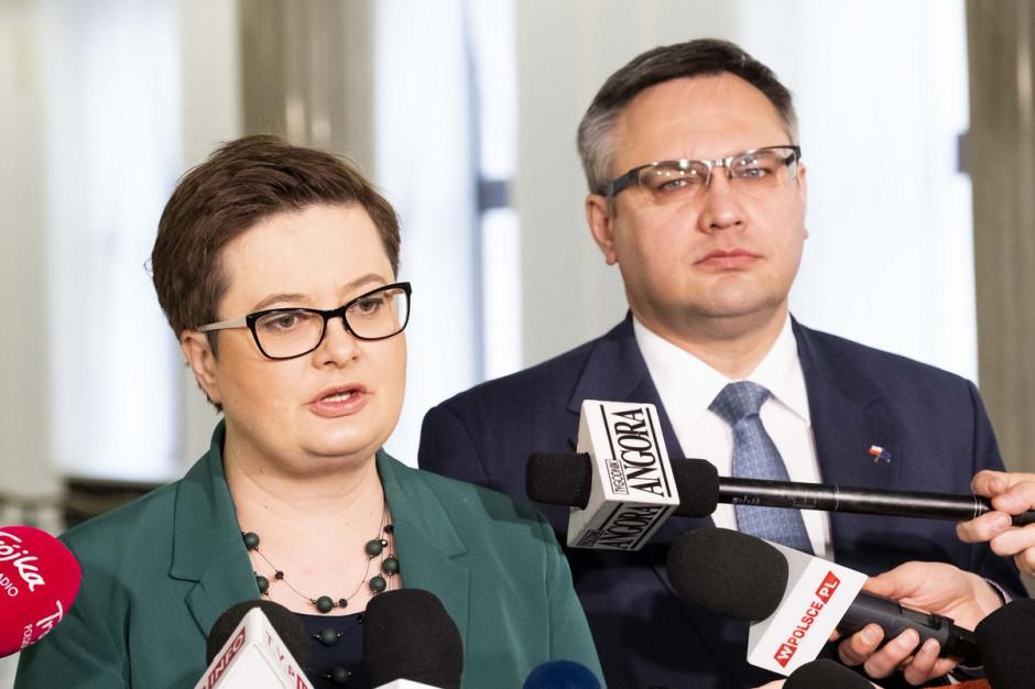 Nowoczesna o strajku nauczycieli: Minister Zalewska zaklina rzeczywistość
