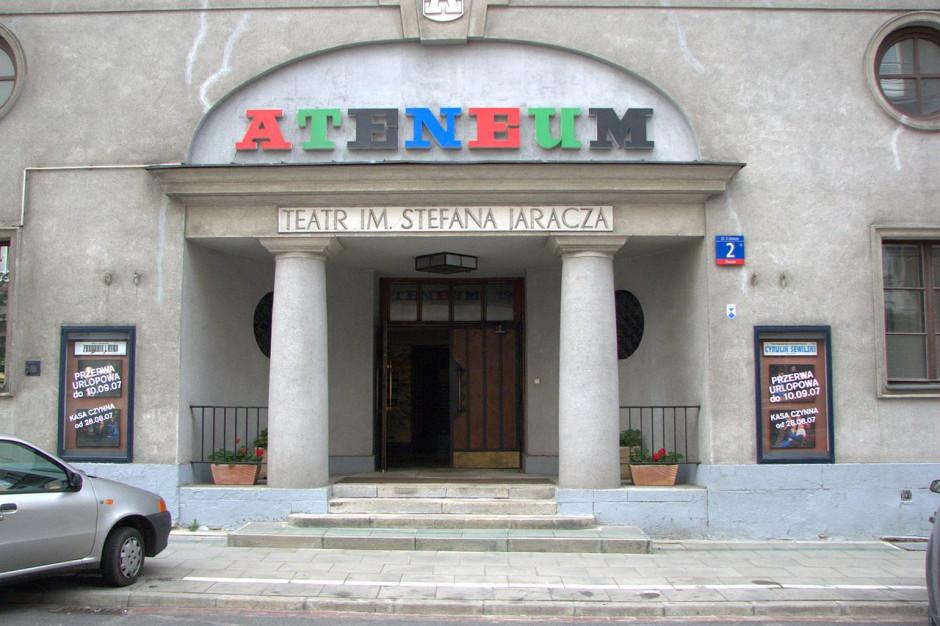Dramatyczna sytuacja teatrów w Warszawie