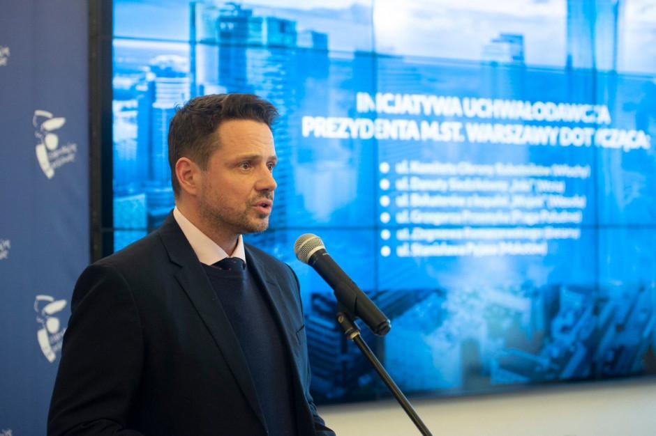 Trzaskowski: W otoczeniu Pałacu Kultury i Nauki powstanie reprezentacyjna przestrzeń publiczna