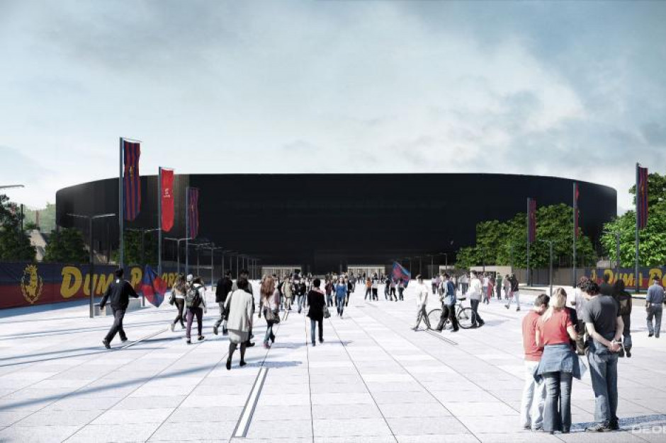 Szczecin: Podpisano umowę na budowę Stadionu Miejskiego i Centrum Szkolenia Dzieci i Młodzieży