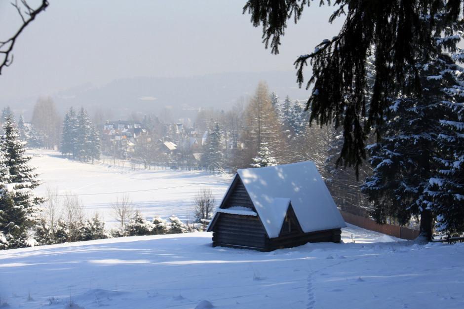 Po nocnym halnym w Zakopanem spadł śnieg
