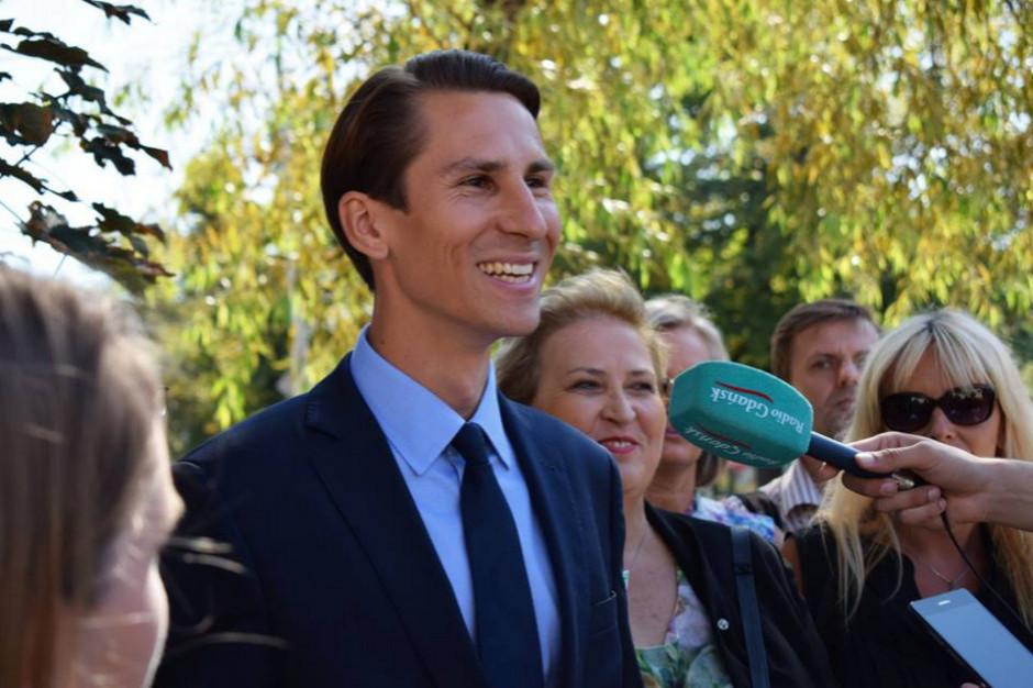 Kacper Płażyński gratuluje nowej prezydent i zaprasza na spotkanie z radnymi PiS