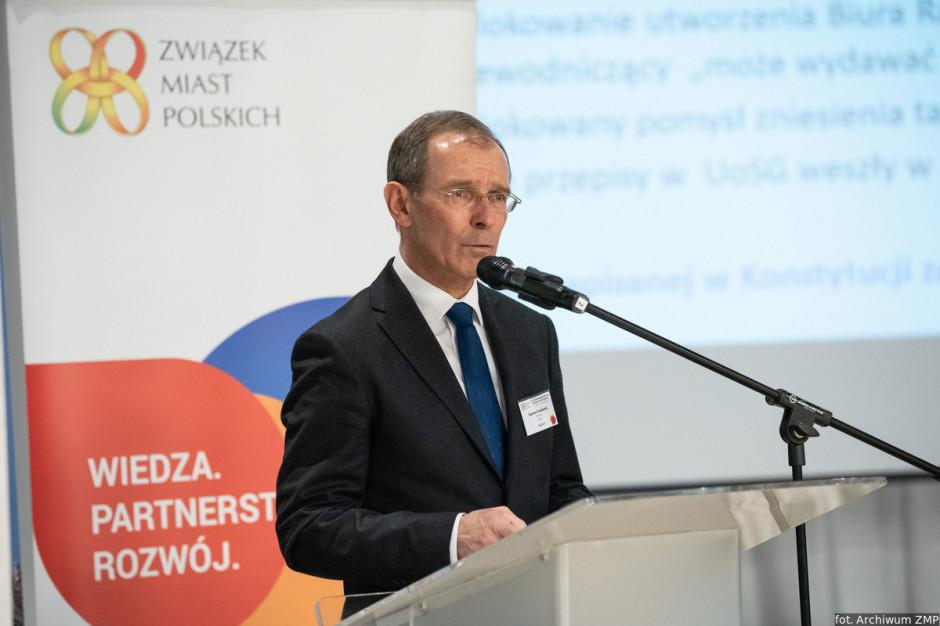 Zygmunt Frankiewicz: prezydenci chcą kandydować do senatu. Związek Miast Polskich im to ułatwi?