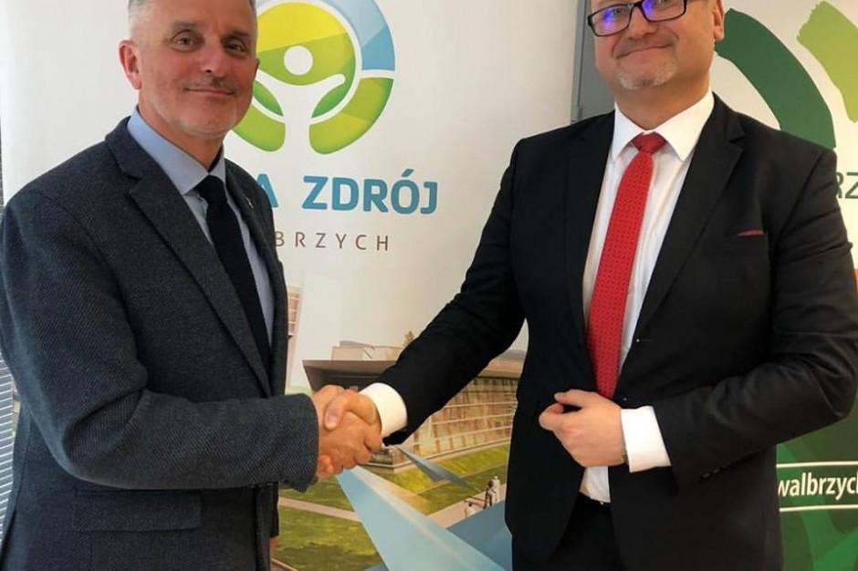 Piotr Rachwalski prezesem spółki Aqua Zdrój Wałbrzych