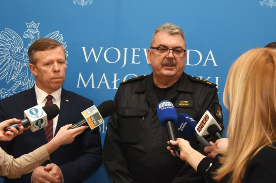 Małopolska po trudnym weekendzie podsumowuje straty: 2,5 tys. interwencji strażaków
