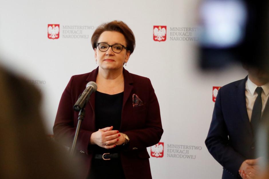 Anna Zalewska: Deklaracja LGBT+ narusza Prawo oświatowe