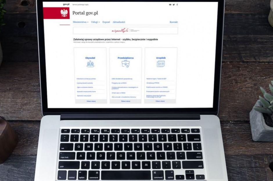 Rośnie popularność portalu Gov.pl skupiającego strony internetowe 19 ministerstw