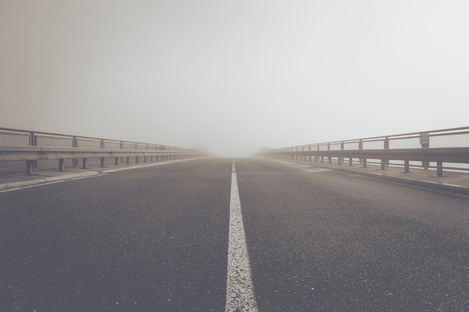 GDDKiA: Opady śniegu i mgły mogą powodować utrudnienia na drogach