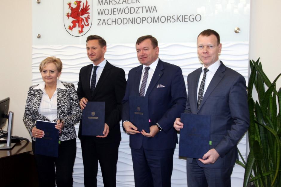 Inwestycje w służbie zdrowia: szpital w Gryficach i WOMP w Szczecinie z dofinansowaniem marszałka