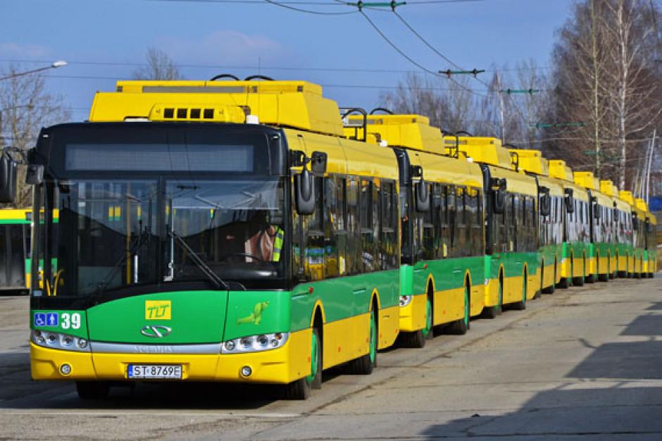 Tychy budują nową trakcję trolejbusową i wymieniają oświetlenie