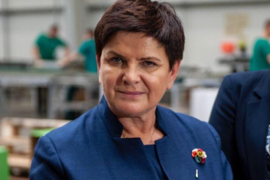Beata Szydło o deklaracji LGBT+: Szkoła ma uczyć tolerancji, ale nie wbrew rodzicom