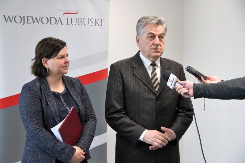 Samorządowcy będą mieli istotny zastrzyk do sfinansowania dróg lokalnych - powiedział wicewojewoda Wojciech Perczak (fot.lubuskie.uw.gov.pl)