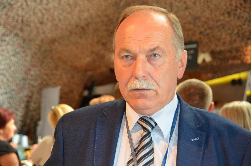 Ryszard Proksa, przewodniczący KSOiW NSZZ, fot.