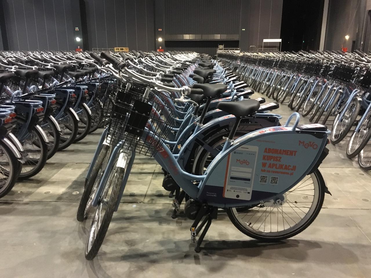 Rowery wkrótce trafią na ulice metropolii (fot. UMWP)