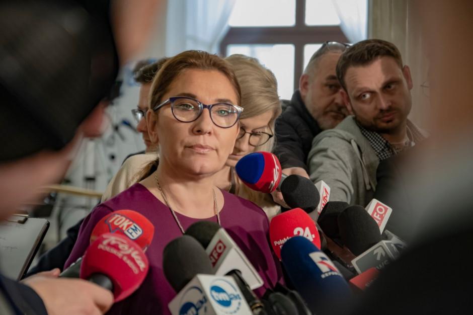 Rzeczniczka PiS: Wypowiedzi prezesa ZNP są skandalem i grą polityczną